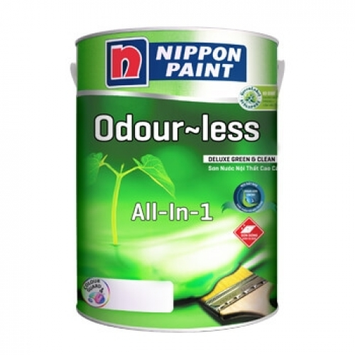 Sơn Nippon Odour-less Deluxe All-in-1